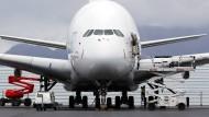 Der A380 ist das größte Passagierflugzeug der Welt.
