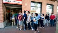 In Spanien suchen besonders viele Menschen Arbeit