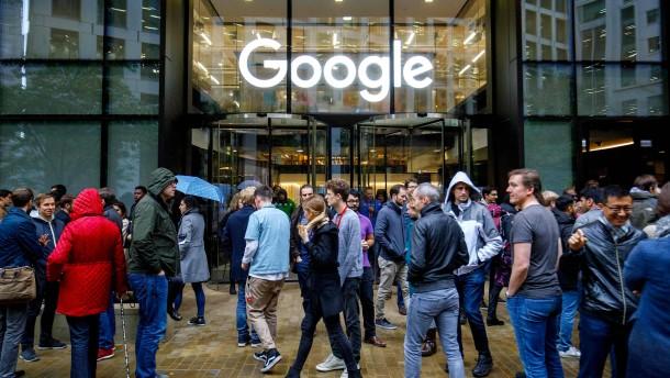 Mitarbeiter-Revolte im Hause Google