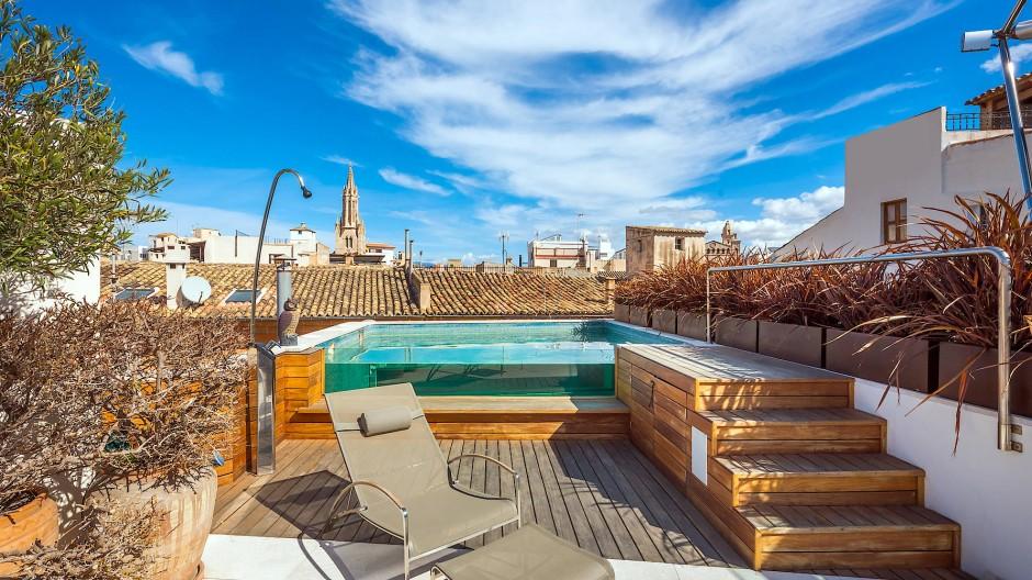 Wunderbare Aussicht: Für mehr als 4 Millionen Euro war dieses Penthouse in Palma auf dem Markt, jetzt bekommt es neue Eigentümer - aus Deutschland.