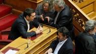 Griechenlands Regierungschef Alexis Tsipras hat gerade ein wichtiges Gesetz durchgebracht, um die Flüchtlingskrise zu lösen.
