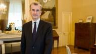 François Villeroy de Galhau ist Präsident der französischen Notenbank.