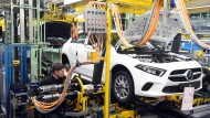 Produktion im Daimler-Werk Rastatt