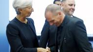 Eurogruppe beendet Treffen ohne Einigung mit Athen