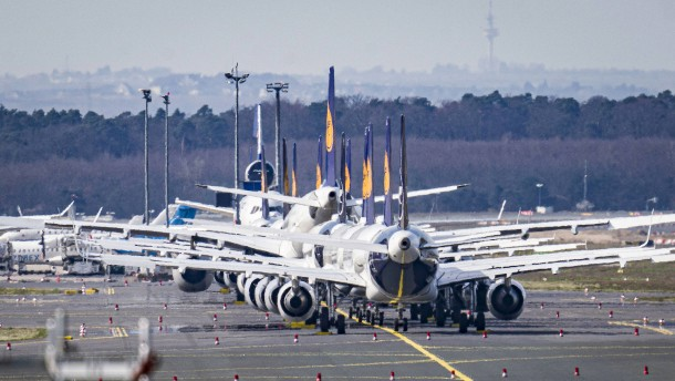Die historische Krise der Luftfahrt