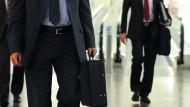Mehr unterwegs: In Deutschland werden wieder mehr Geschäftsreisen unternommen.