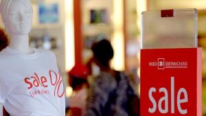 Die Deutschen kaufen wie lange nicht mehr