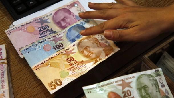Der tiefe Fall der türkischen Lira