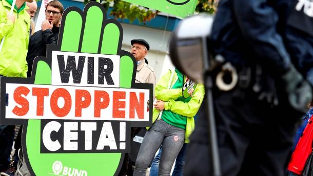 Österreichs Sozialdemokraten gegen Ceta