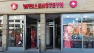 Der Wellensteyn-Laden am Roßmarkt in Frankfurt zieht um.