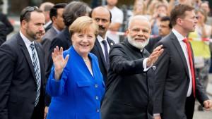 Indien will von Deutschlands Trump-Problem profitieren