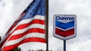 Chevron verdient nur noch 21 Milliarden Dollar