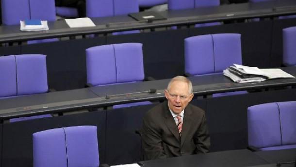 Schäuble schließt grundlegende Steuerreform aus