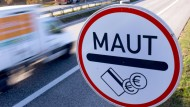 Ausländer sollen nur auf Autobahnen zahlen