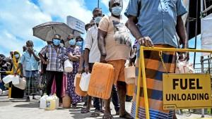Sri Lanka stürzt tief in die Krise