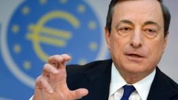 EZB belässt Leitzins bei null Prozent