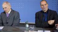 Schäuble will Gespräch mit Varoufakis nicht mitschneiden
