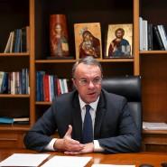 Griechenlands Finanzminister Christos Staikouras gibt der Rückgang der Risikoprämie Rückenwind für neue Anleiheemissionen.