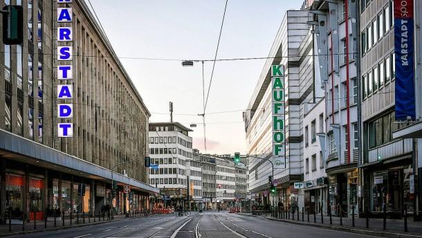 Gerichte weisen Eilanträge von Karstadt Kaufhof zurück