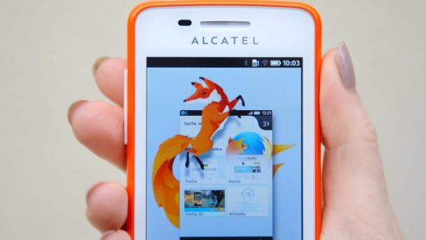Firefox gibt Betriebssystem für Smartphones auf