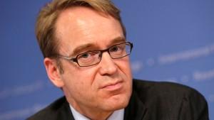 Bundesbank-Chef sieht EZB in der Klemme