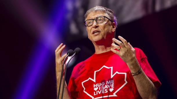 """Bill Gates: """"Ich werde auf der Forbes-Liste zurückfallen"""""""