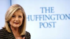 Arianna Huffington verlässt ihre Online-Zeitung