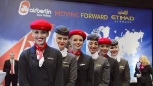 Air Berlin und Etihad dürfen vorerst gemeinsam fliegen