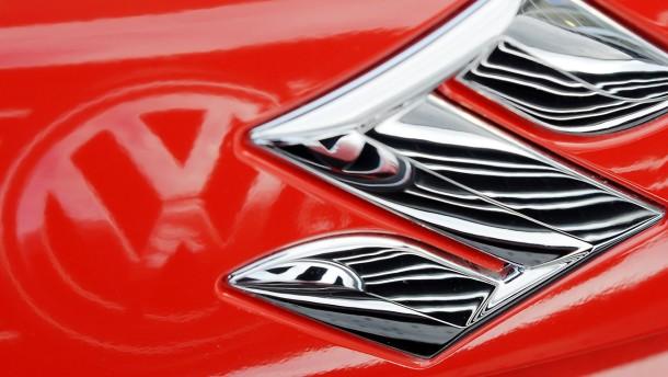 Suzuki kündigt Allianz mit Volkswagen auf