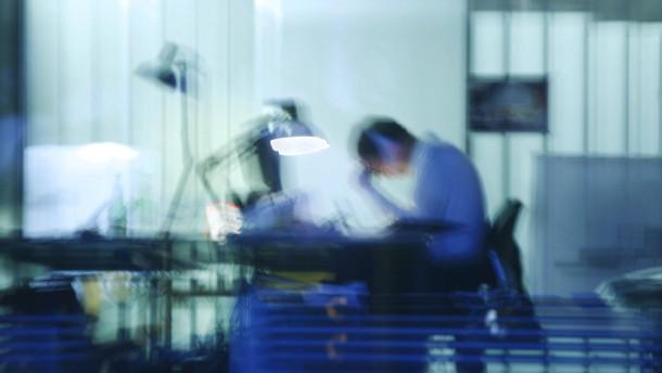 Psychischer Stress macht immer mehr Arbeitnehmer krank