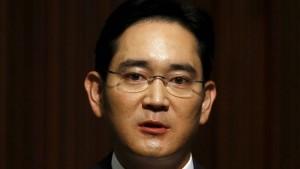 Samsungs Konzernlenker 22 Stunden verhört