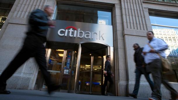 Amerikas Banken haken die Krise ab