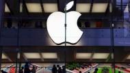 In den Apple-Stores ist immer Betrieb.