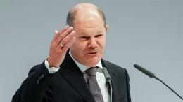 Scholz wirbt für eine Sparkassen-Zentralbank