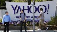 Yahoo erwirtschaftet viel Verlust