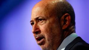 Wegen Trump setzt der Goldman-Chef seinen ersten Tweet ab