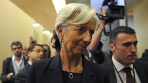 IWF-Kandidatin Lagarde droht weiter Rechtsstreit