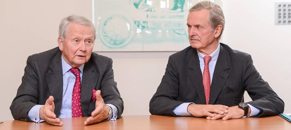 Interview Wolfgang Porsche Und Hans Michel Piech Porsche Se