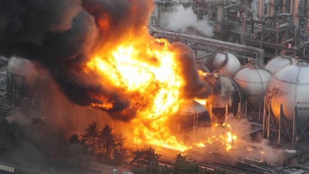 Erdbeben trifft japanische Wirtschaft hart