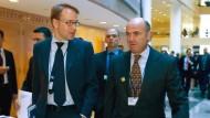 Das neue Dreamteam? Jens Weidmann (links) und Luis de Guindos aus Spanien