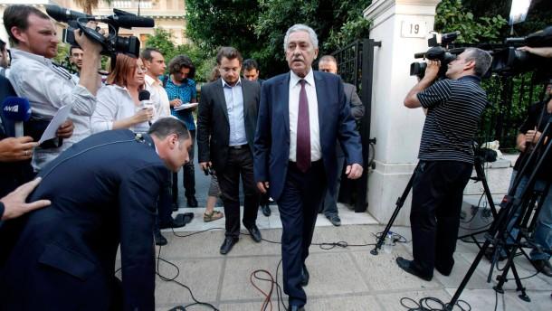 Griechen können sich nicht auf Sparpaket einigen