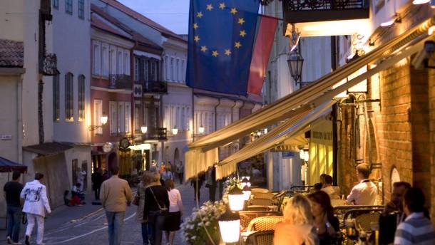 Litauen vor Euro-Beitritt