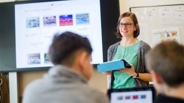 Wenig Digitalbildung für Lehrer