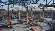 Die türkische Bauwirtschaft boomt. In Istanbul soll der größte Flugverkehrsknotenpunkt der Welt entstehen.