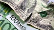 Bislang dominiert der Dollar unter den Währung der Welt.