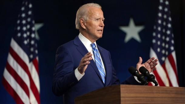 Biden will an erstem Amtstag Klimaabkommen wieder beitreten