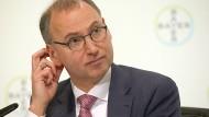 Werner Baumann ist seit zwei Jahren Vorstandsvorsitzender von Bayer.