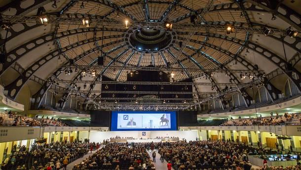 Deutsche Aktionäre leiden unter Beißhemmung