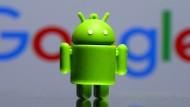 Bugdriod ist das Maskottchen des mobilen Betriebssystems Android.
