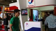 Gute Geschäfte in Iran: Total-Stand auf einer Öl- und Gasmesse in Teheran.